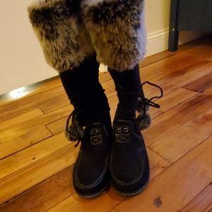 American eagle flat boots